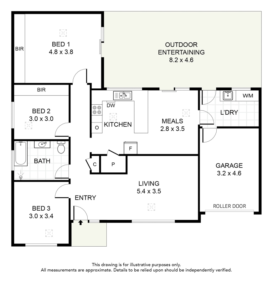 View property lakes and portside for 11 brunel crt floor plan
